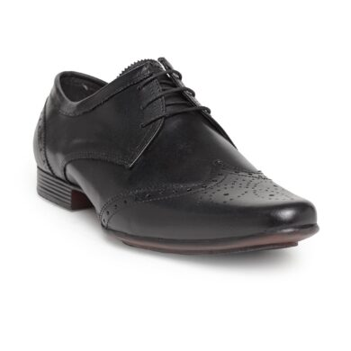 leather Derby brogues shoes